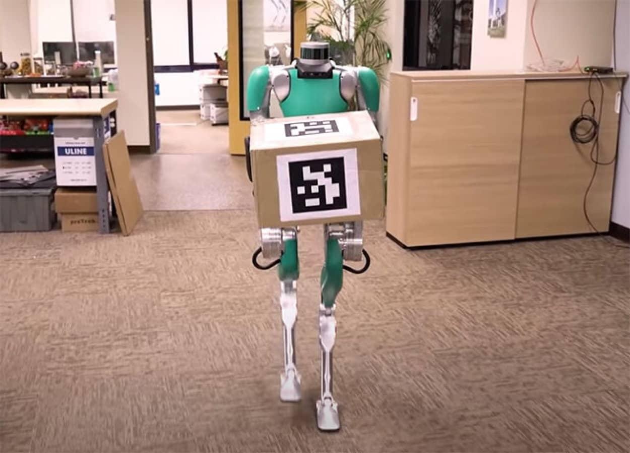 肉体労働をこなす人型ロボット