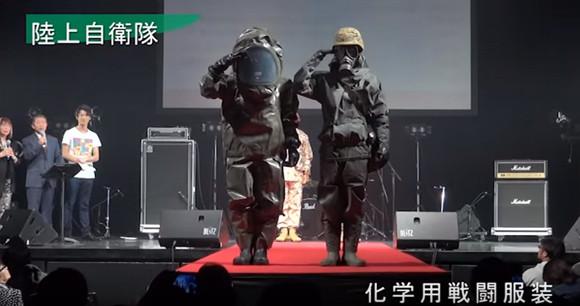 陸自のイケメン率が高かった。2016年東京ボーイズコレクションに参戦した陸・海・空の自衛官たち