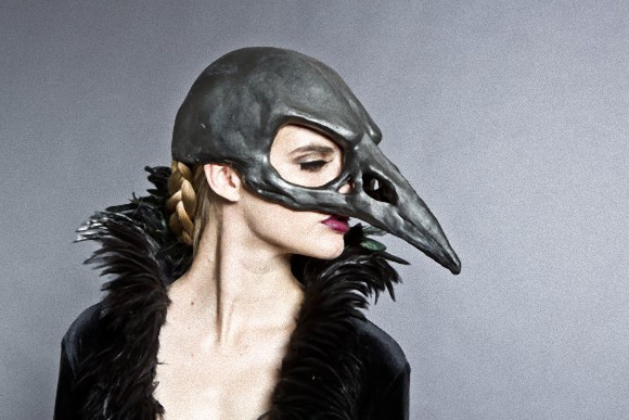 中2心が疼くぜ!鳥獣系からカタツムリまで、手作りのアニマル系ヘッドマスクがEtsyで販売中