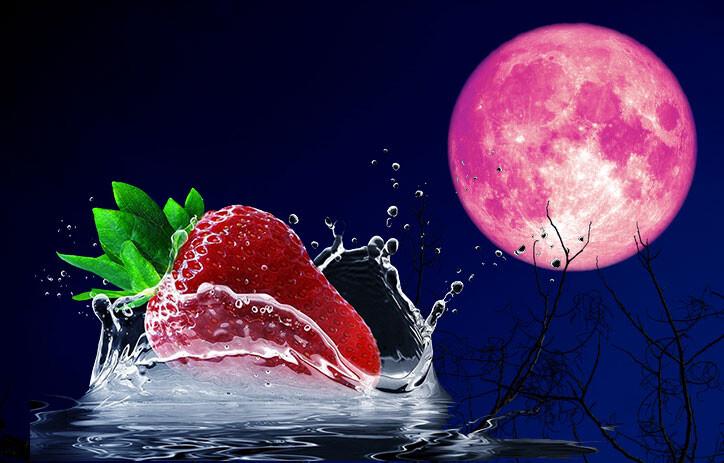 6月の満月はストロベリームーン