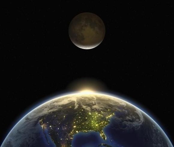 地球の引力が月の表面に無数のひび割れを作っていることが判明(米研究)