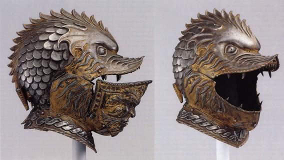 騎士の時代から20世紀まで、面白奇妙な鎧兜(ヘルメット)の歴史
