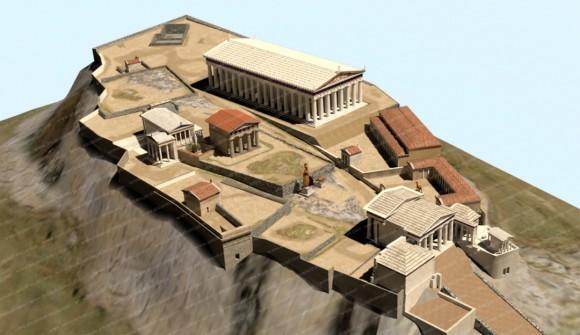 古代アテネを探索
