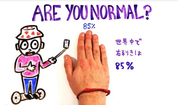 あなたは普通?普通じゃない?統計的にみる普通の人