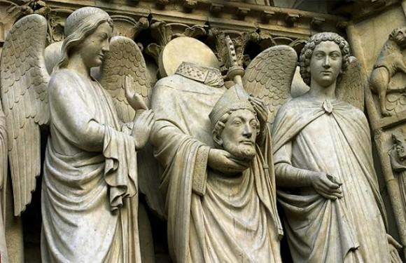 切断されても生きてる、しゃべれる。断首された後、その頭を持つ聖人の歴史
