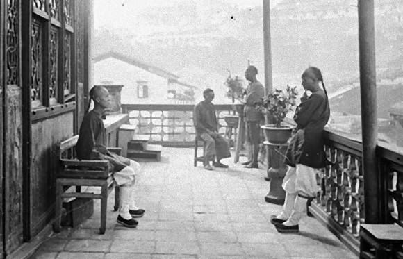1868~1872年の中国・香港の古写...