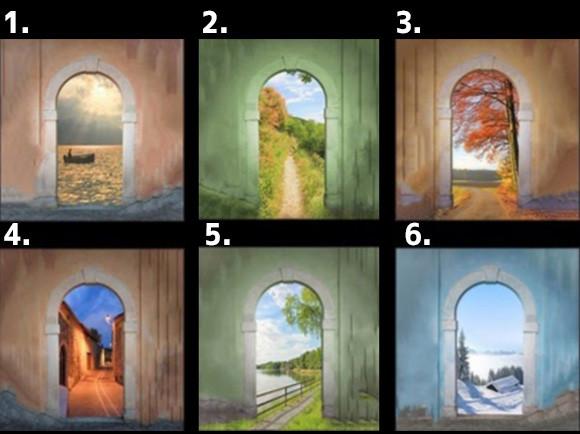直感で選ぼう。どの扉を選んだかであなたが本当に求めている生き方がわかる「6つの扉」占い