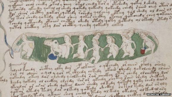 ヴォイニッチ手稿の解読ついに成功?そこには婦人病の治療法が描かれていた!?(英研究者)
