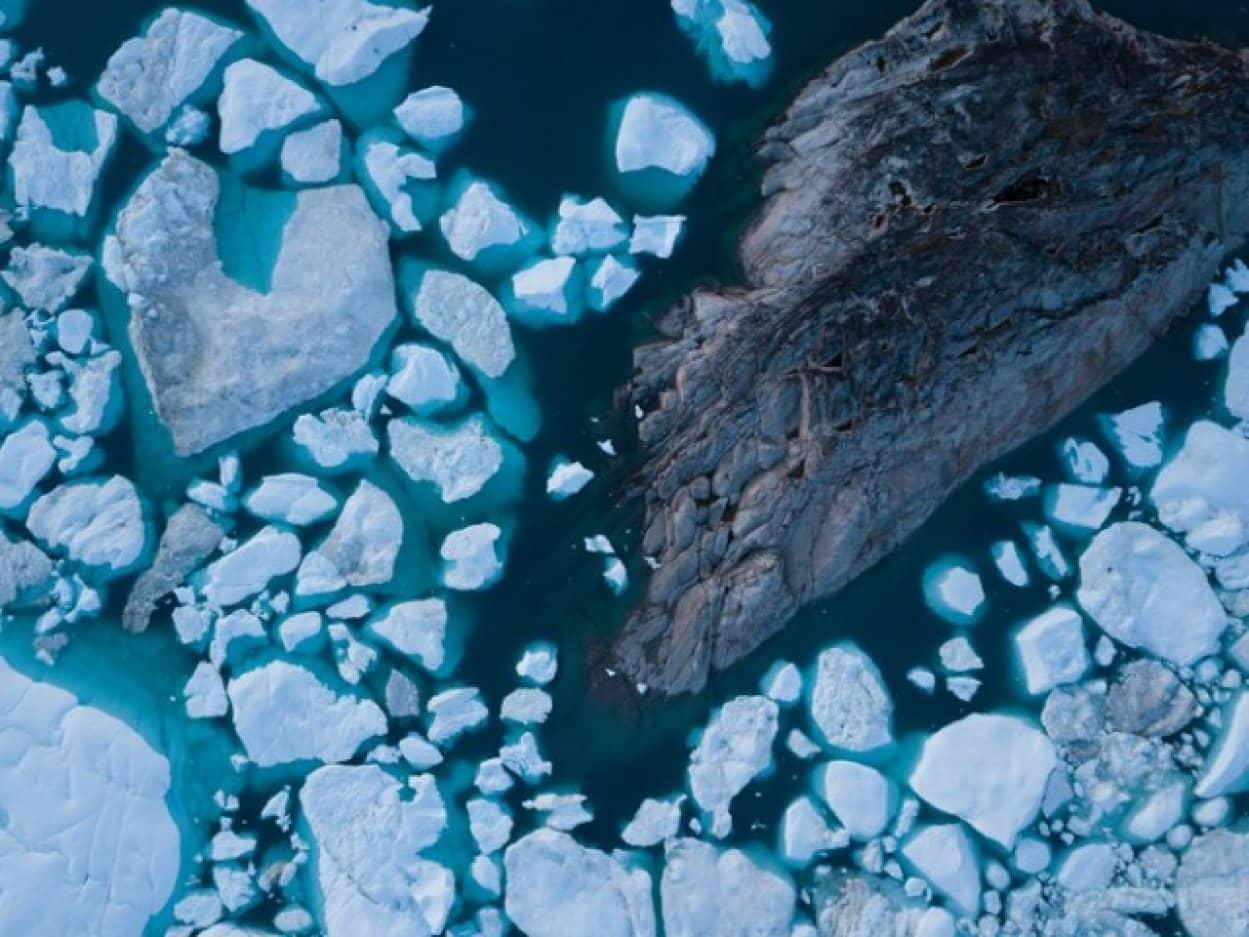 氷に閉ざされたグリーンランドはかつて緑豊かな時代があった