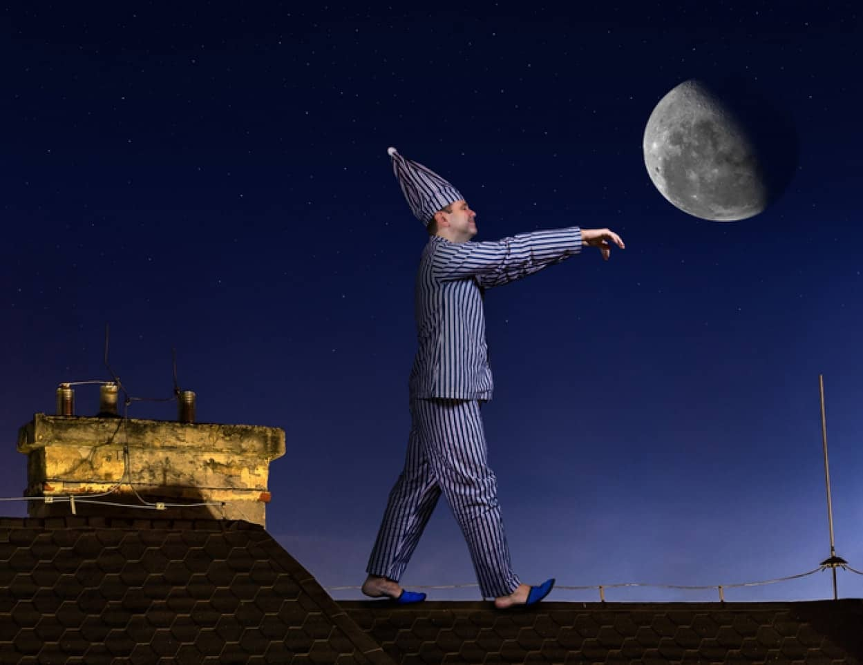 月の満ち欠けは男性の睡眠により多くの影響を及ぼしている