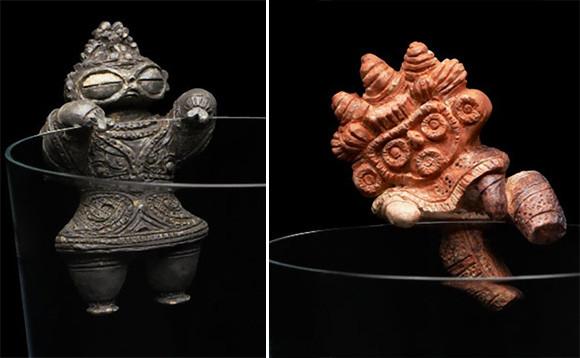 タイムスリップしすぎだろ!コップのフチ子に土偶と埴輪が参戦。本日より販売開始