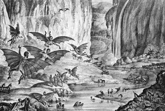 月にはコウモリ人間やビーバーがいる」1835年、新聞記事から広まった ...