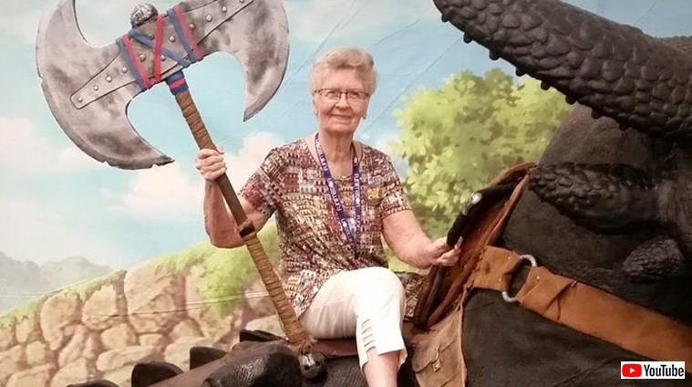 82歳で現役ゲーマー。YOUTUBEで実況もこなす「スカイリムおばあちゃん」がシリーズ最新作に登場