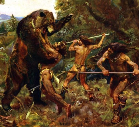 「狩猟 人類」の画像検索結果