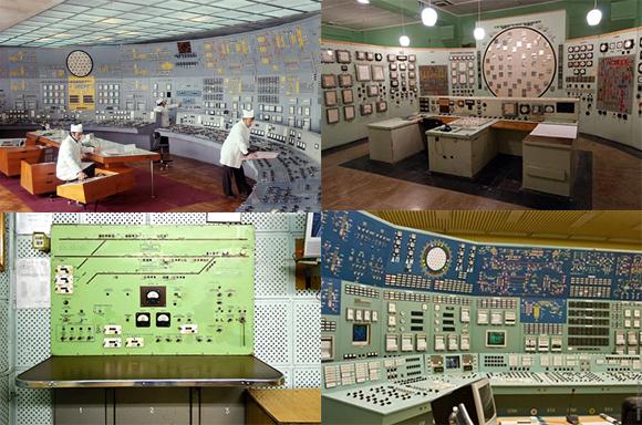 昔映画で見たやつや!ソ連時代の制御室のコントロールパネルコレクション