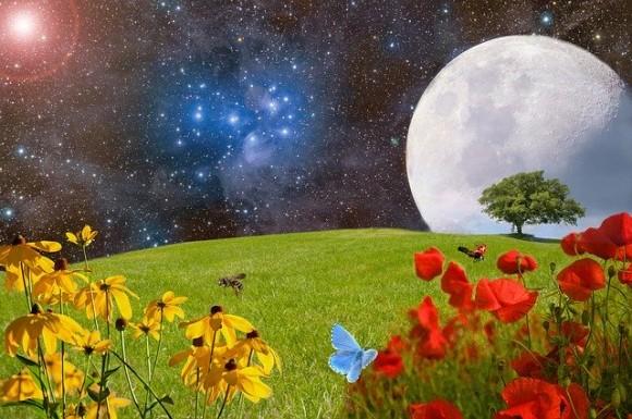 5月の満月はフラワームーン