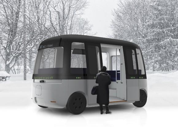 無印良品が手掛けた自動運転バス「Gacha(ガチャ)シャトルバス」がついに完成。プロトタイプが公開される