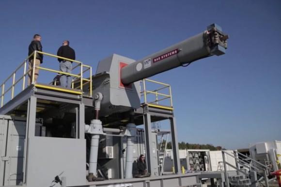 これが最新鋭だ!米海軍、マッハ6で弾体を発射する新型レールガン「ゲームチェンジャー」のプロトタイプを公開
