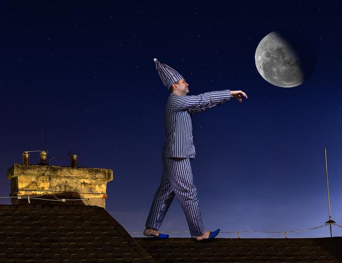 満月が近づくと女性よりも男性の方が眠れなくなるという研究結果