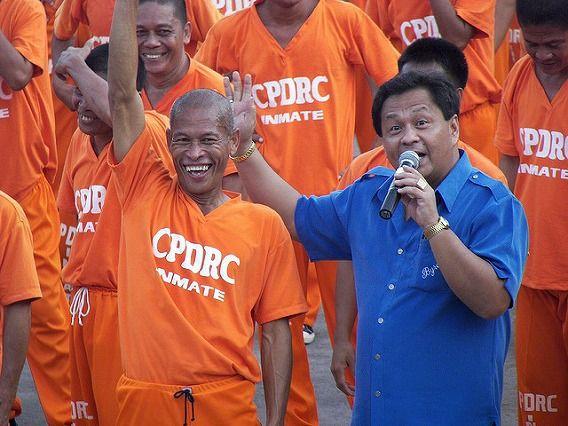 Philippine Prison Prisoners Dance Dancing 10