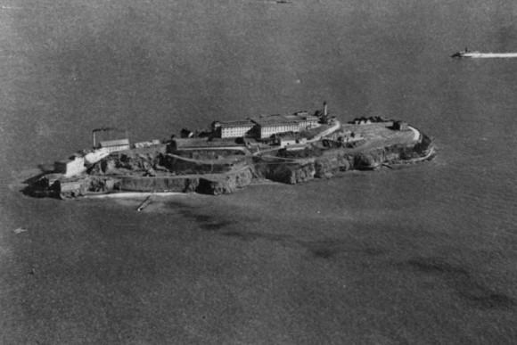 アルカトラズ刑務所の地下に隠された要塞が発見される(アメリカ・アルカトラズ島)