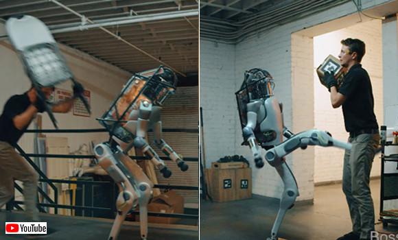 動作テストなの?ロボットにあらん限りの暴行を加えたところ、思わぬ展開が待っていた!この映像の正体は?