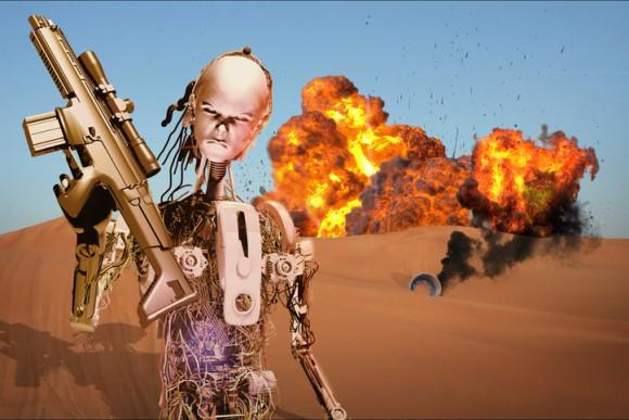 AIの専門家が殺人ロボットの開発を禁止するよう政府に訴え