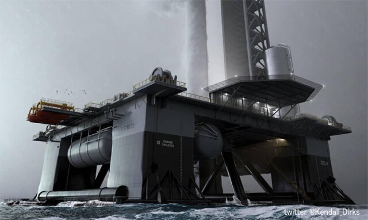スペースXが海上に宇宙港を建設中