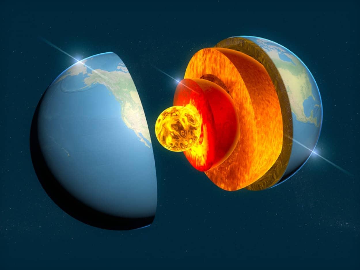 地球の内核に新たなる層があることを発見