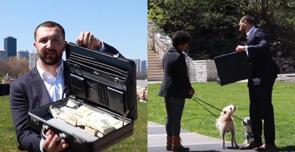 もしあなたの愛犬を1100万円で譲って欲しいと言われたら?アメリカでの実験動画