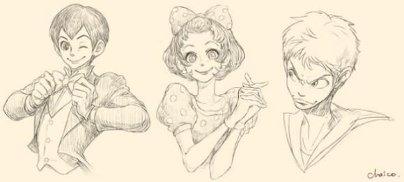 ディズニーのキャラクターを擬人化 ミッキーが少年マンガの主人公