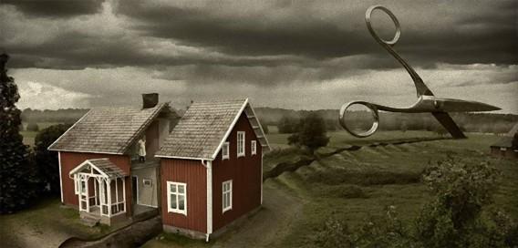 どこまでが現実の世界なのか?境目がわからなくなる不思議な構図の写真