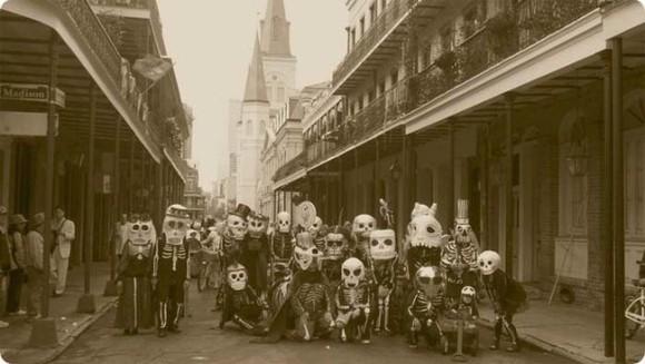 キリスト教伝統の謝肉祭、昔の「マルディグラ」はこんなにもホラーだった。