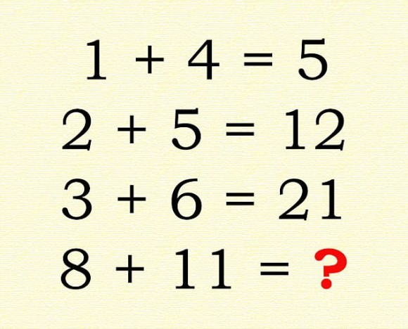 SNS上で超話題となっている知能検査と称したこの計算問題、君は解く ...