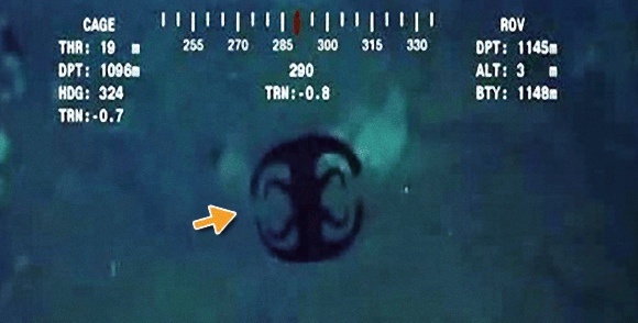 またしても海にバッドマンマークが?シンガポールの深海1144メートルで撮影されたトランスフォーム型謎生物