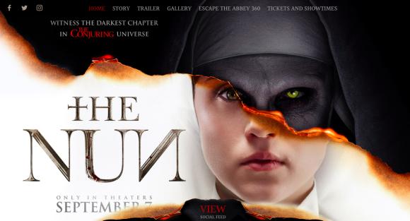 「the nun movie」の画像検索結果