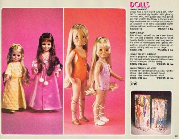 Talky Crissy Doll_e