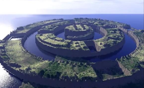 幻の島「アトランティス」か? グーグルアースによってアゾレス諸島付近の海底に600キロの陸塊を発見