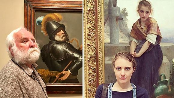 おまオレ?(錯乱)美術館にいったら自分そっくりの絵画を発見。ドッペルゲンガー現象に陥ってしまった人々
