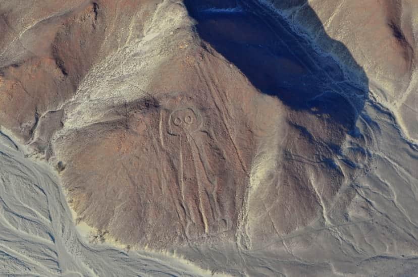 ナスカの地上絵、オウルマン