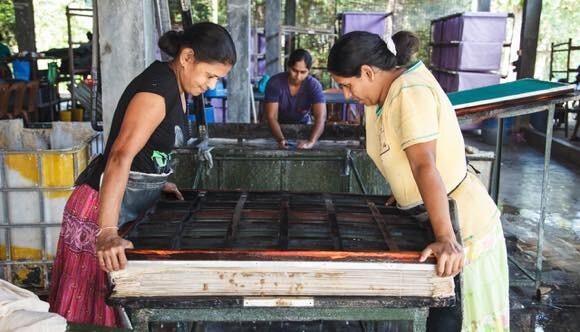 排泄物も有効活用。象の糞で作った紙製品が「独特の魅力がある」と大人気!(スリランカ)