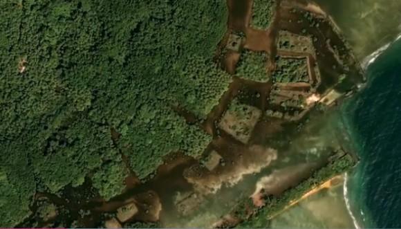 幻のアトランティスか?遠く離れた離島に古代都市が発見される(ポンペイ島)