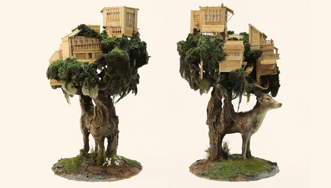 ハウルの城を思わせるミニチュア彫刻の世界を堪能しよう