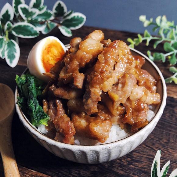台湾のソウル丼、トロトロの甘辛豚肉がご飯を誘う、ルーローハン(魯肉飯)の作り方【ネトメシ】
