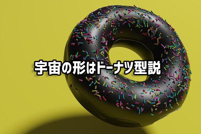 宇宙は有限であり、巨大なドーナツ型であるとするシミュレーション結果