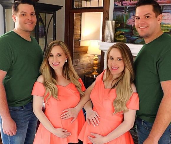 一卵性双生児同士のカップルが第一子を出産