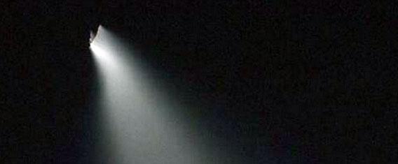 中国各地で5月13日、一斉に目撃された謎の発光飛行物体。その正体は?