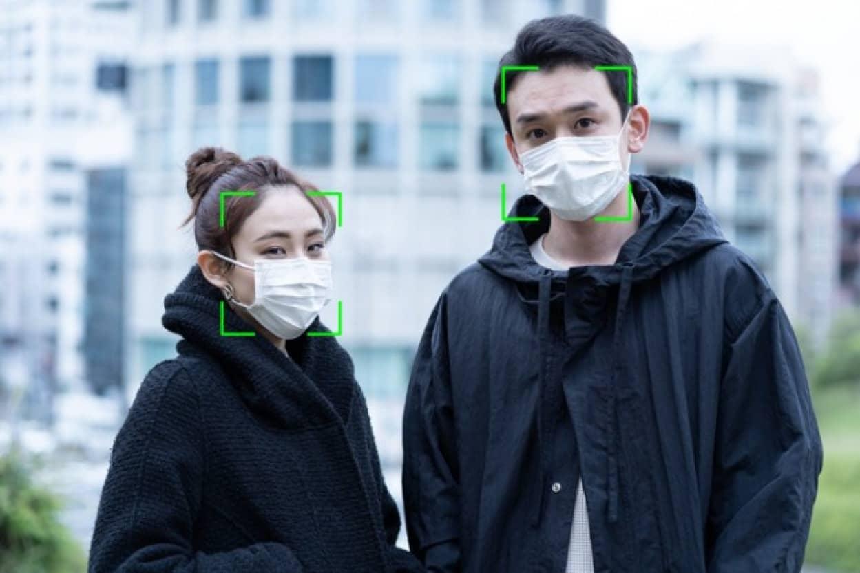 マスクをしていても個人を特定できる顔認証システム
