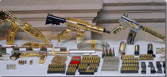 黄金の武器に最強の猛獣、政府に...