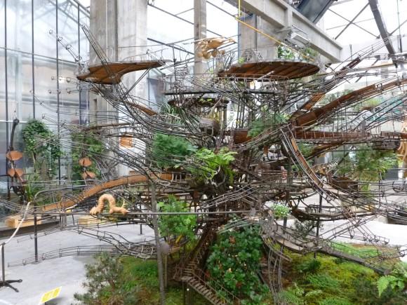 ジブリの世界観が現実に!?世界最大の吊り庭を建設する空中庭園プロジェクト